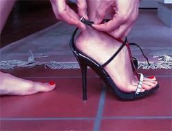 Сексуальная ступня
